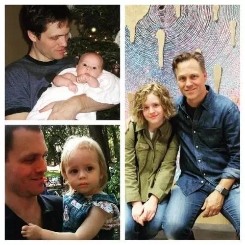 Lulu Wilson with Father