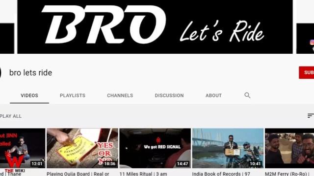 Vardha's Travel Vlog YouTube channel