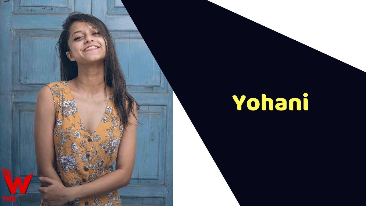 Yohani (Singer)