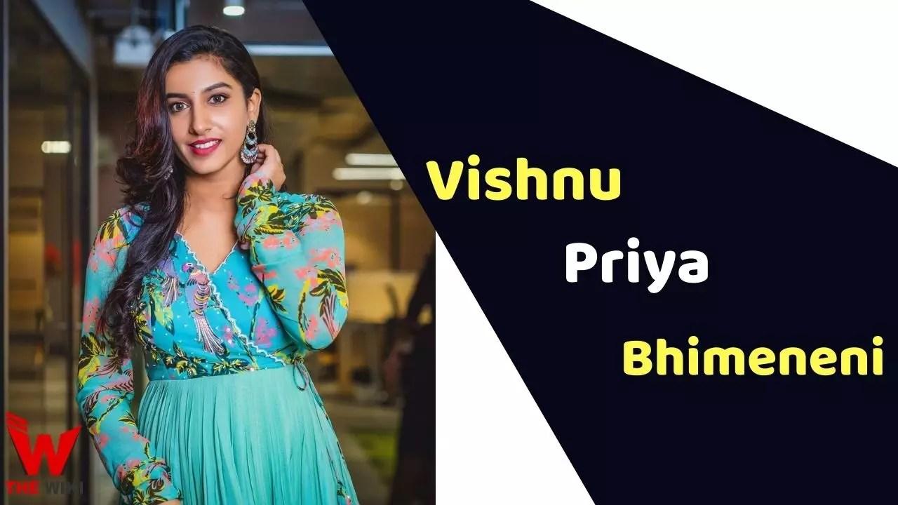 Vishnu Priya Bhimeneni (Actress)