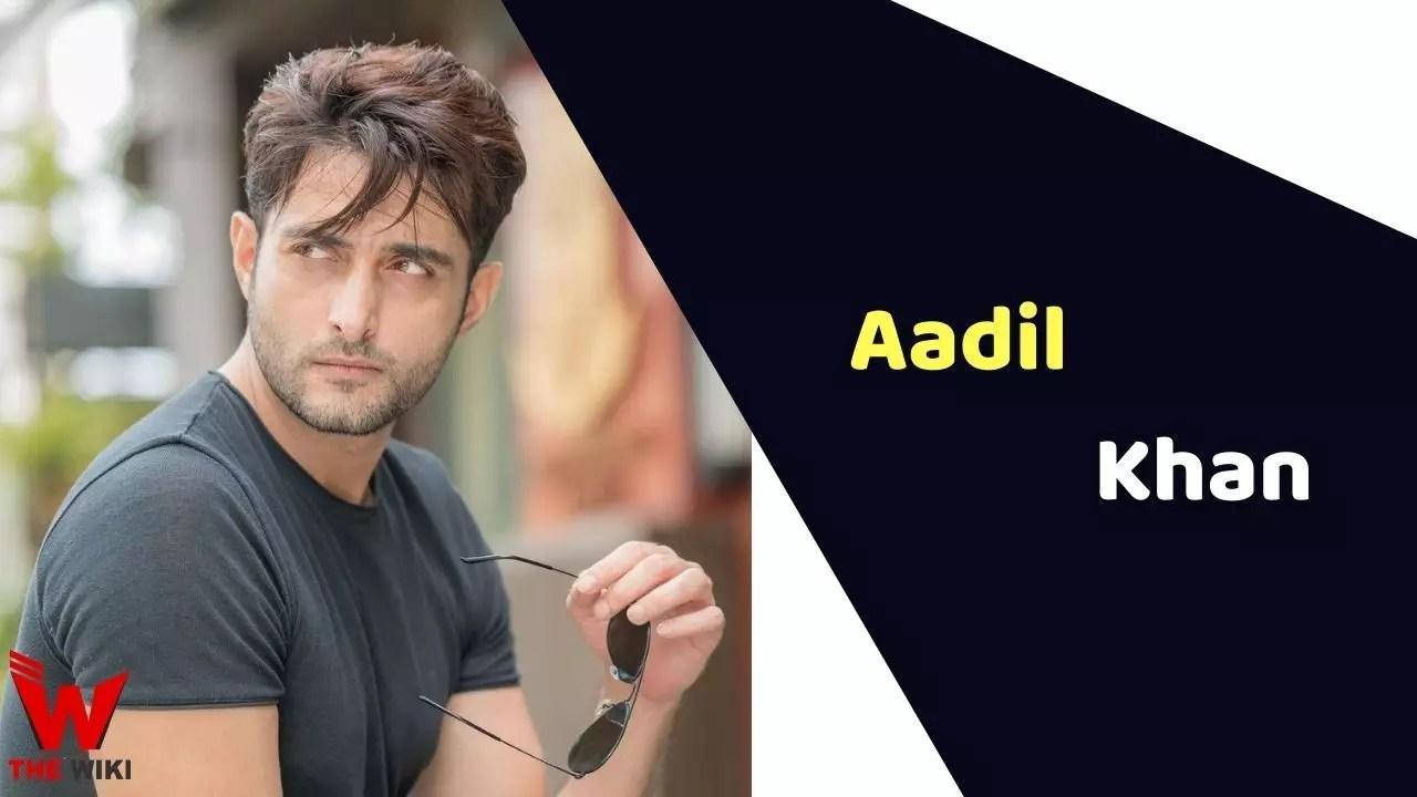 Aadil Khan (Actor)