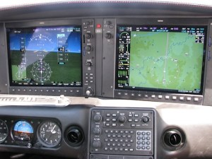 Cirrus SR22-G3 Perspective by Garmin panel, photo by wikiWings