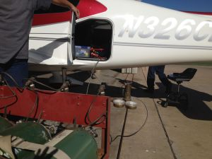 Oxygen System Refill to SR22