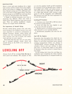 """Flying the step"" B-24 Pilot Training Manual for the Liberator, published 1945, page 68."