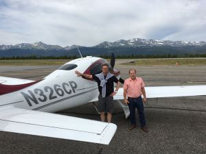 Cirrus Perspective SR22TN, Leadville, Colorado. Highest airport in North America (KLXV) 9,934 feet.