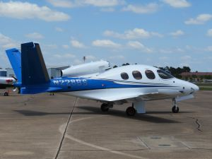 2018 Cirrus Vision SF50 Personal Jet, photo credit wikiWings