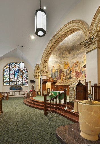 St Thomas Aquinas Cathedral Wikoff Design Studio