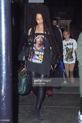 NEW YORK, NY - OCTOBER 05: Rihanna is seen on October 5, 2016 in New York City. (Photo by NCP/Star Max/GC Images)