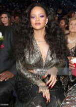 NEW YORK, NY - JANUARY 28: Recording artist Rihanna attends the 60th Annual GRAMMY Awards at Madison Square Garden on January 28, 2018 in New York City. (Photo by Christopher Polk/Getty Images for NARAS)