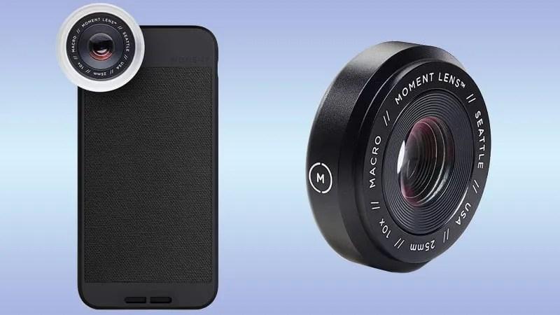 lente moment para fotografias macro
