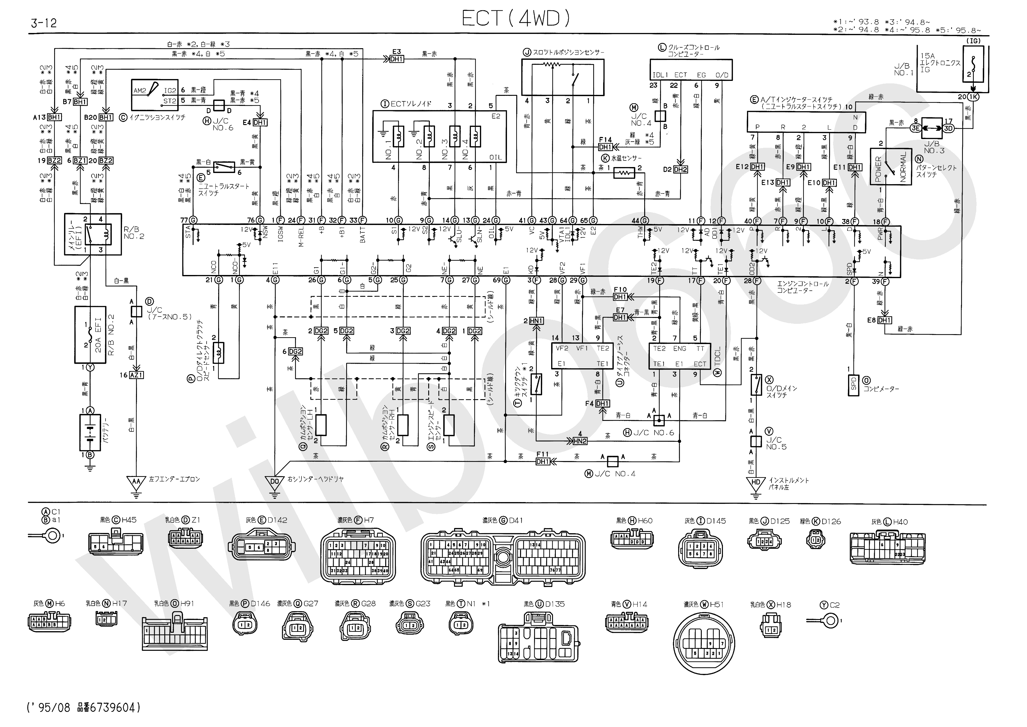1uzfe Ecu Pinout Diagram