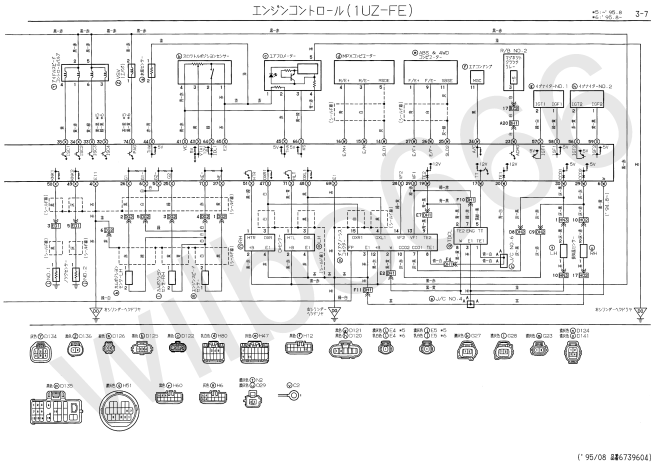 lexus alternator wiring diagram lexus image wiring 1uzfe wiring diagram 1uzfe printable wiring diagram database on lexus alternator wiring diagram