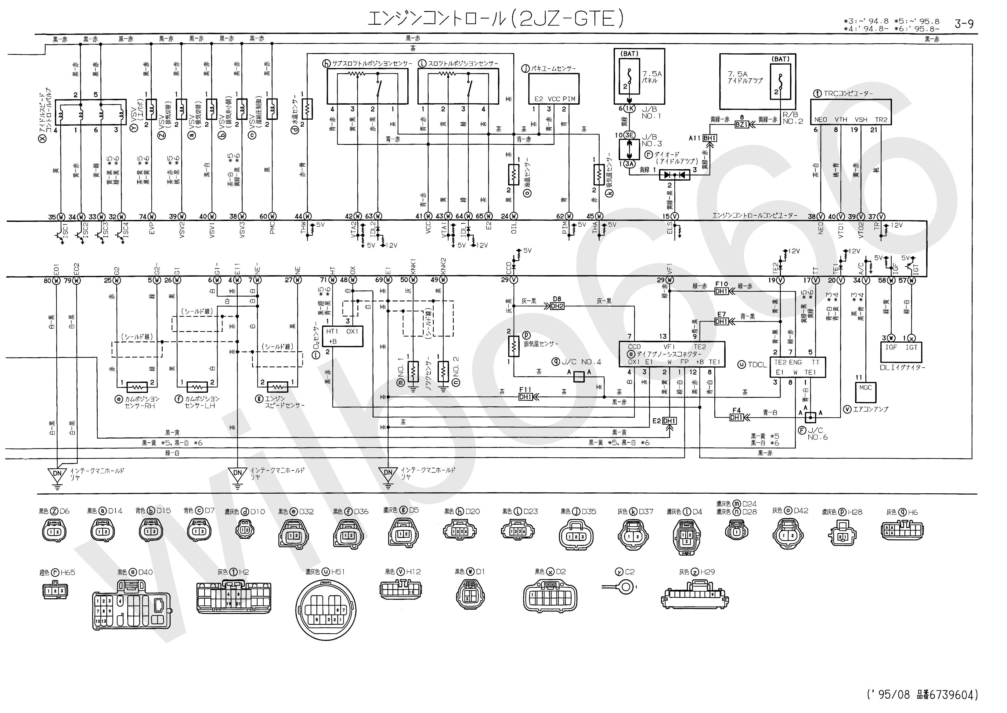 95 Lexu Es300 Fuse Box Diagram