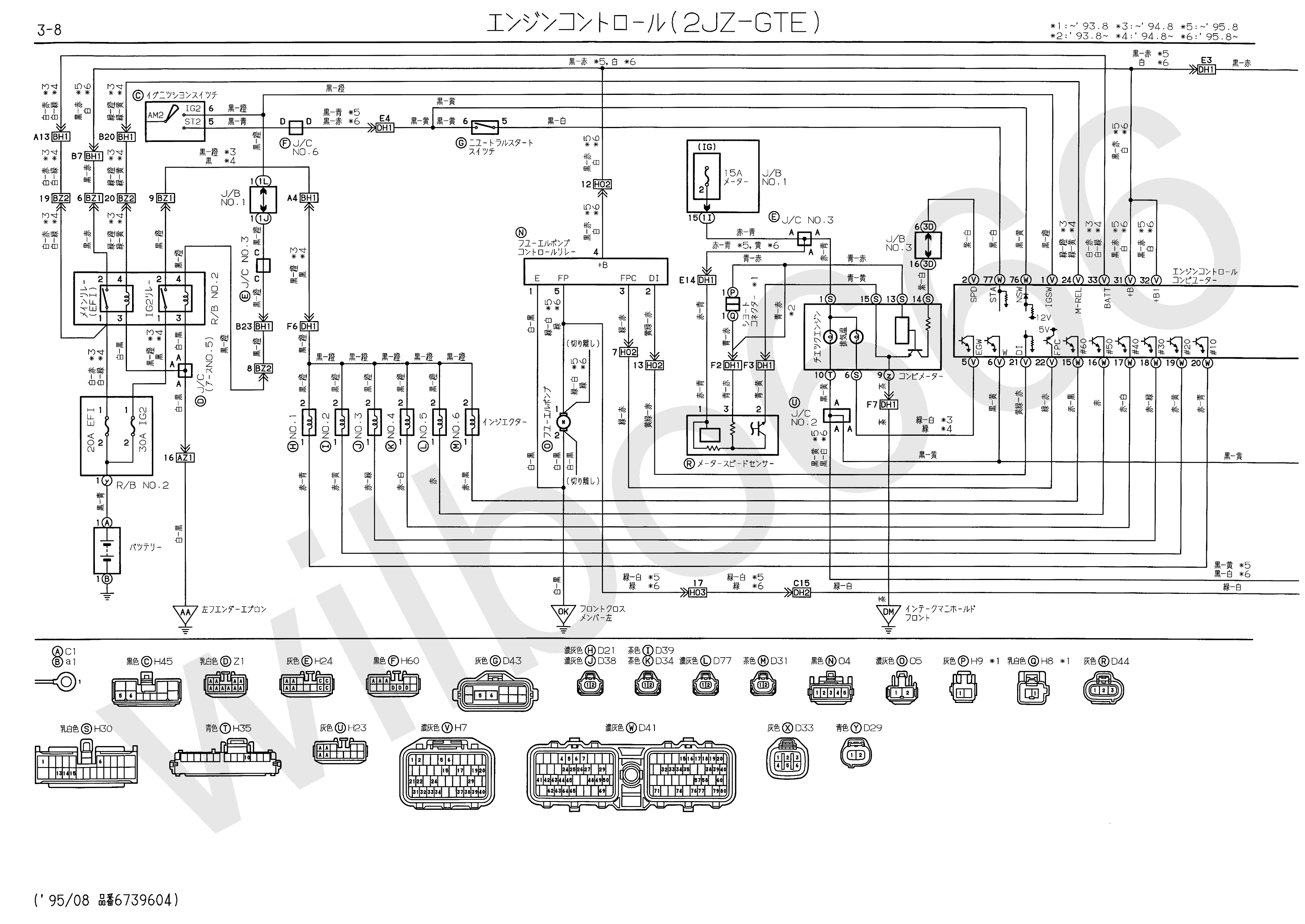 1jz Gte Engine Vacuum Diagram