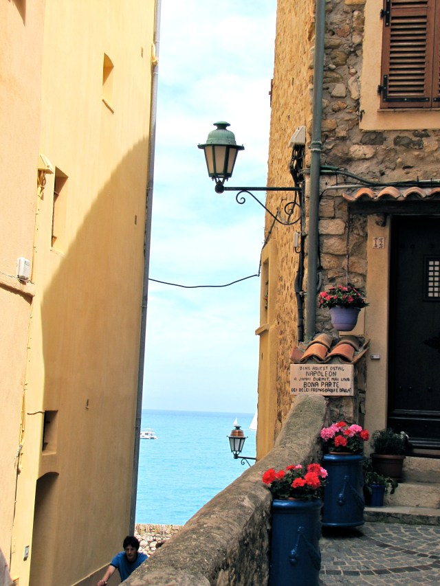 A View In Antibes, France
