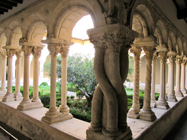 Cloisters at Aix-en-Provence Cathedral