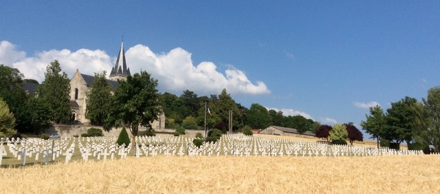 War Graves from The Battle of the Marne, Champagne, France