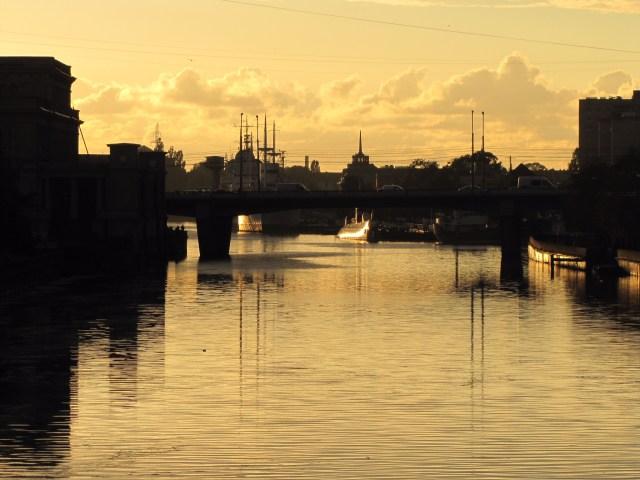 Kaliningrad, Russia - Maritime Museum At Sunset