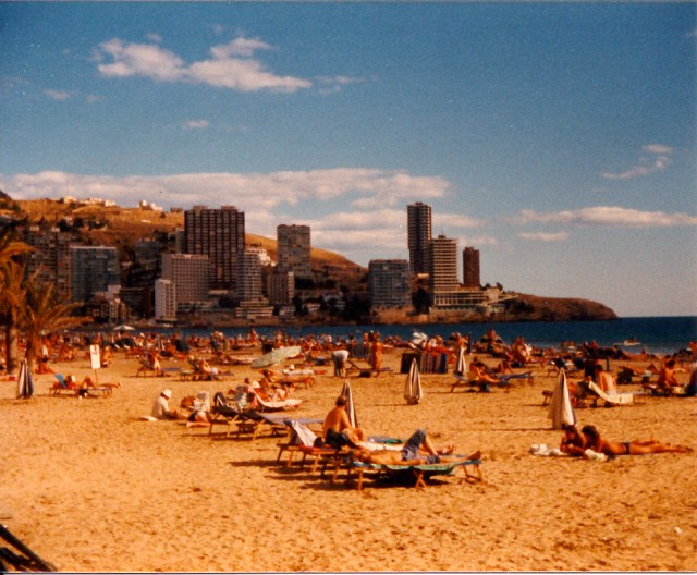 Benidorm, Spain, 1983