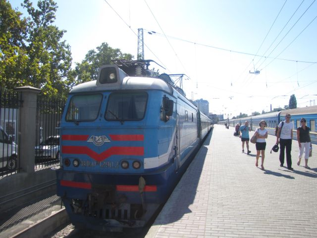 Train at Odessa Station