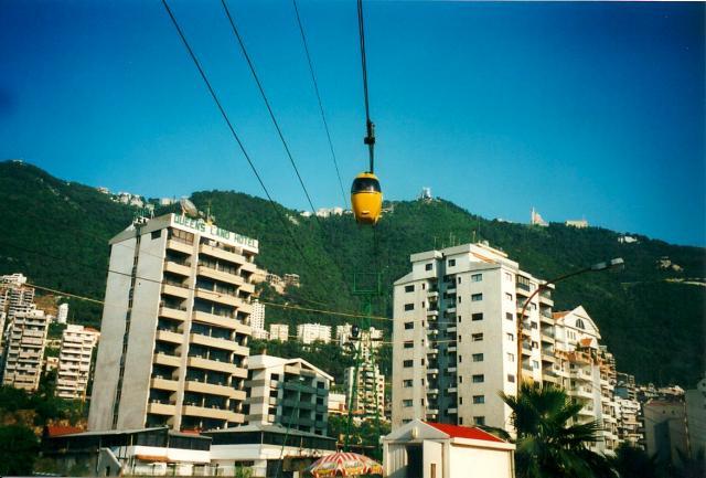Telepherique, Jounieh Near Beirut