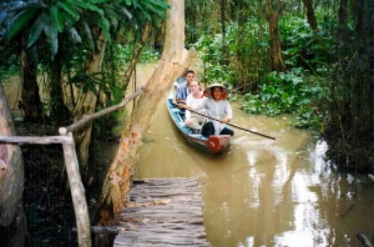 Mekong Delta Canoe Ride, Vietnam