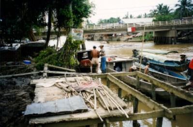 Silt Barges, Mekong, Vietnam