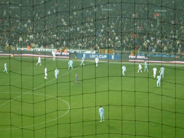 F.C. Copenhagen v Manchester City, UEFA Cup Match
