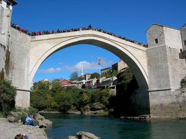 Ottoman Bridge, Mostar, Bosnia & Herzegovina