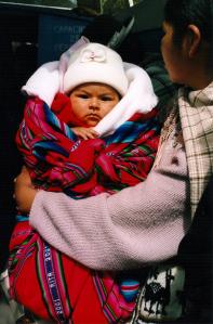 Peruvian Baby, Lake Titicaca, Peru