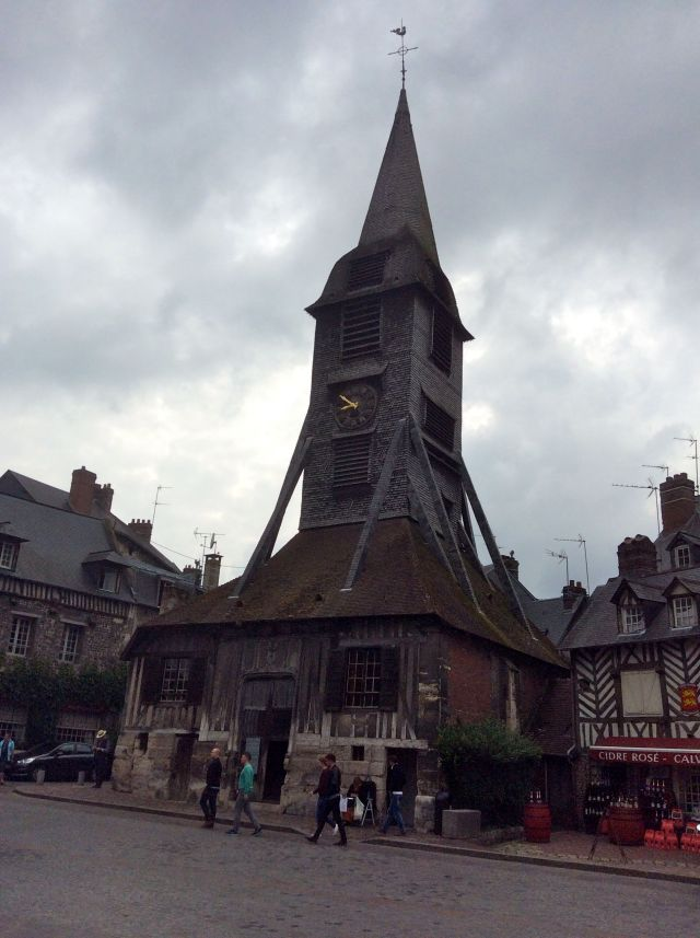 Medieval Clock Tower, Honfleur, France