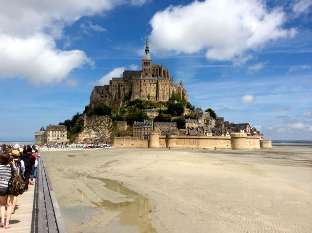 Mont St Michel, France. June 2015.
