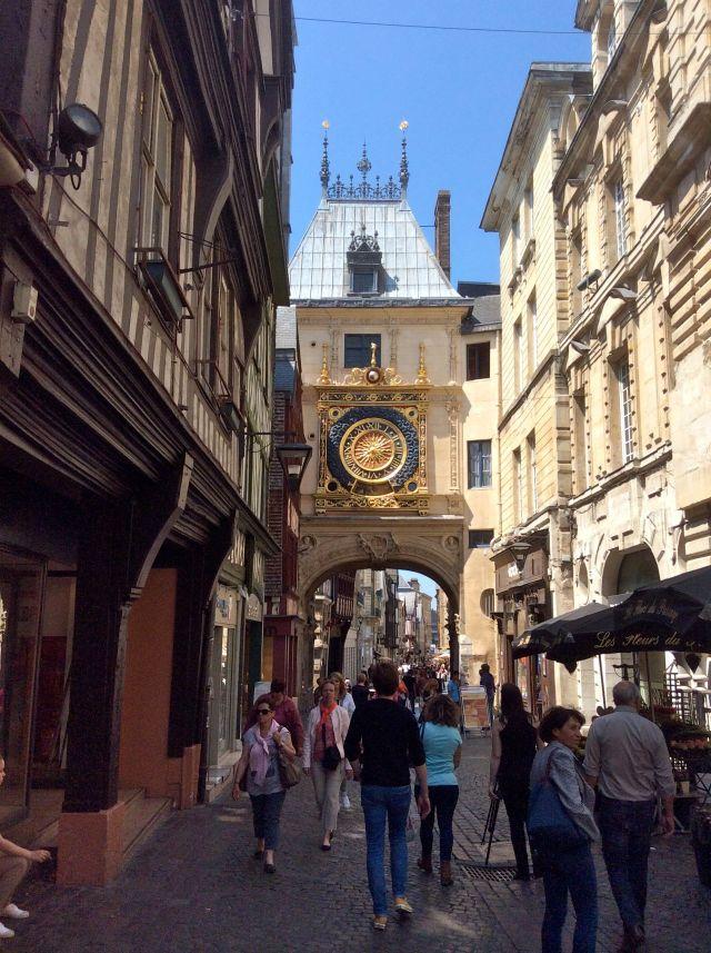 Clock Tower, Rouen, France