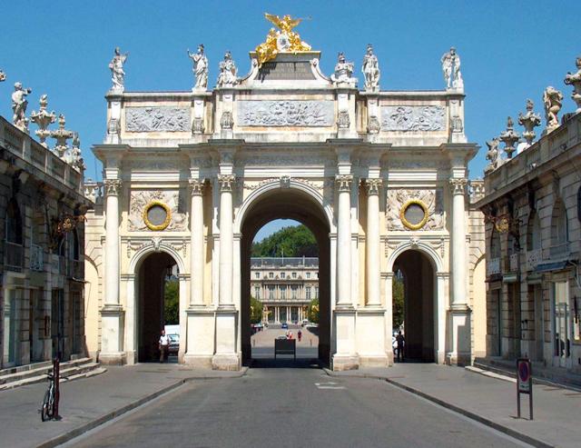 Arc de Triomphe, Nancy, France