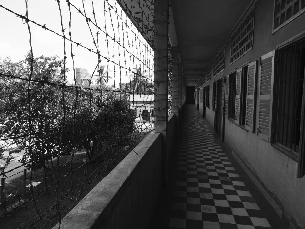Tuol Sleng Detention Centre, Phnom Penh, Cambodia