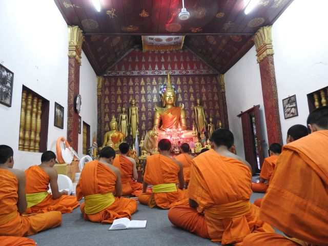 Monks Chanting, Luang Prabang, Laos