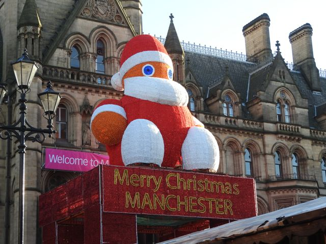Inflatable Santa, Manchester​