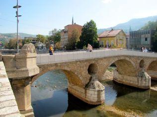 Archduke Ferdinand's Least Favourite Bridge, Sarajevo