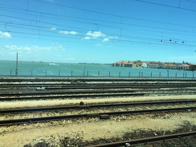 Train Tracks, Venice, Italy