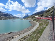 The Bernina Express, Switzerland