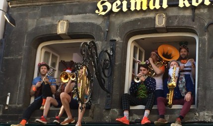 Brass Band, Cologne Christmas Market