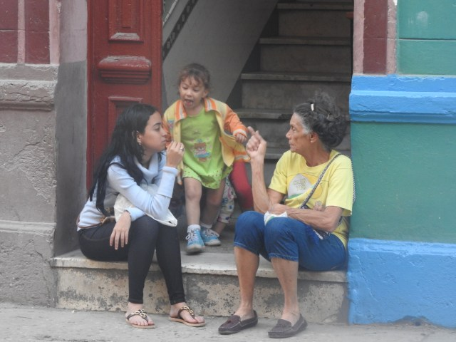 Three Generations, Old Havana, Cuba