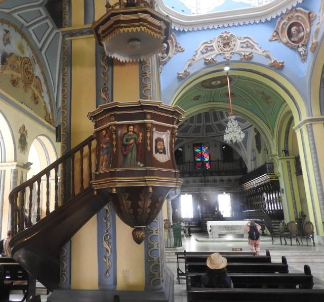 Interior of Santiago de Cuba Cathedral
