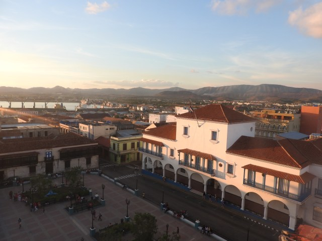 City Hall viewed from the Casa Grande Hotel, Santiago de Cuba