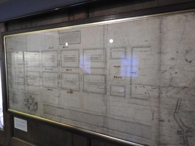 Original plans for the design of Edinburgh's New Town, Museum of Edinburgh