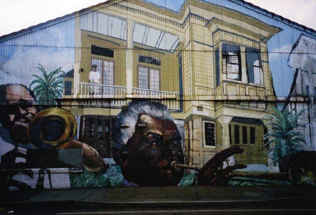 Jazz Mural New Orleans