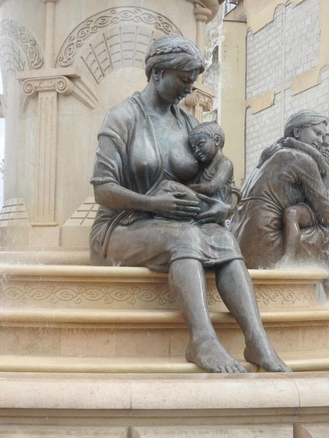 Breastfeeding Mother Statue, Skopje, North Macedonia