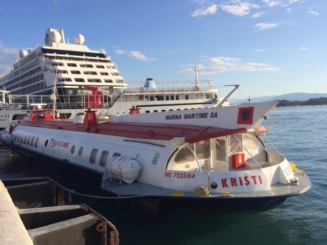 Corfu To Albania Fast Ferry