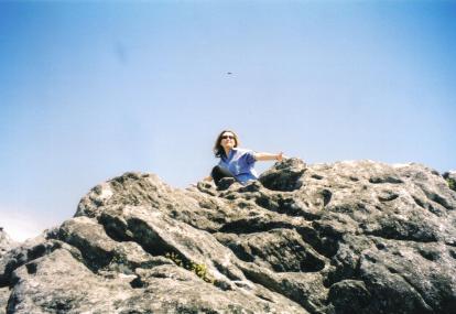 Rania on Rock2