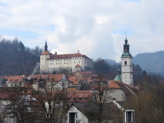 Skofja Lokia, Slovenia. February 2017.
